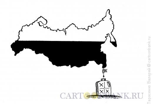 Карикатура: Сырьевой придаток, Тарасенко Валерий