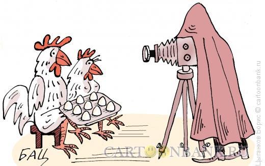 Карикатура: Семейный портрет, Цыганков Борис