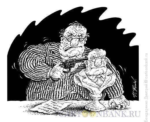 Карикатура: Политический суицид, Бондаренко Дмитрий