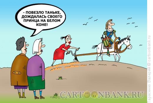 Карикатура: Принцесса полей, Тарасенко Валерий