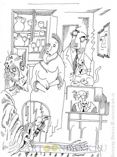 Карикатура: Наркомания, Богорад Виктор