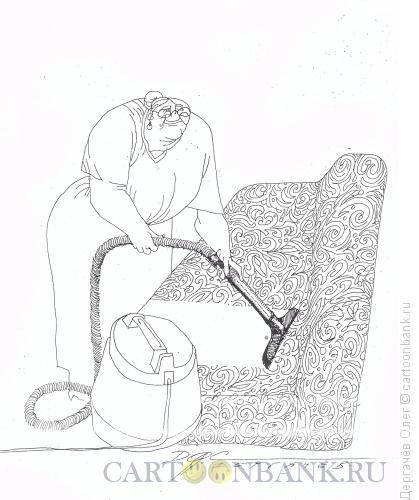 Карикатура: Пылесос, Дергачёв Олег