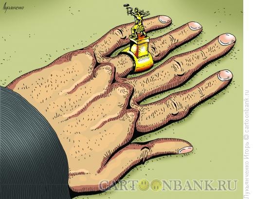 Карикатура: Печатка, Лукьянченко Игорь