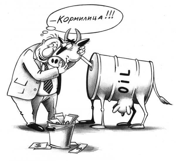 Карикатура: Кормилица, Сергей Корсун