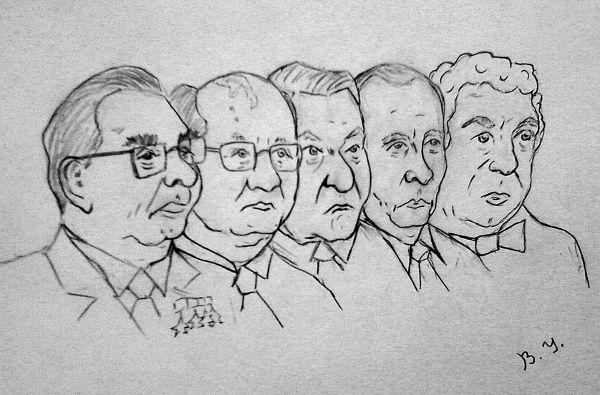Карикатура: Кобзон всегда с народом!