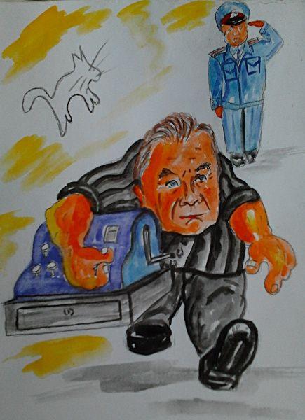 Карикатура: Наша власть., владимир ву
