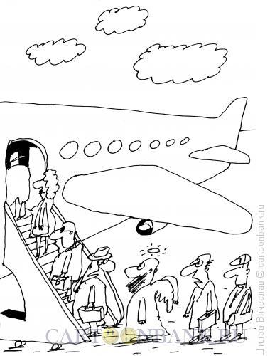 Карикатура: Ангел, Шилов Вячеслав