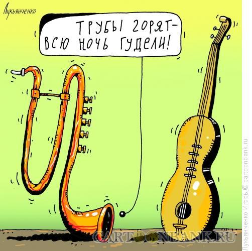 Карикатура: Похмелье, Лукьянченко Игорь