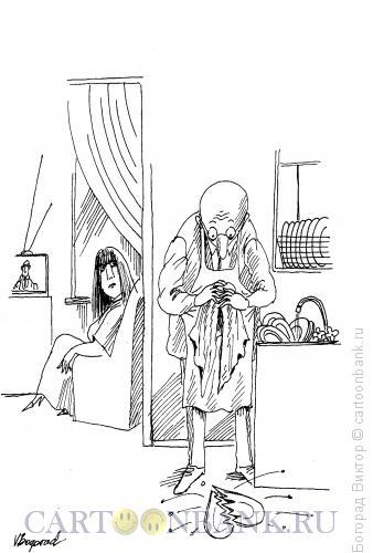 Карикатура: Разбитое сердце, Богорад Виктор