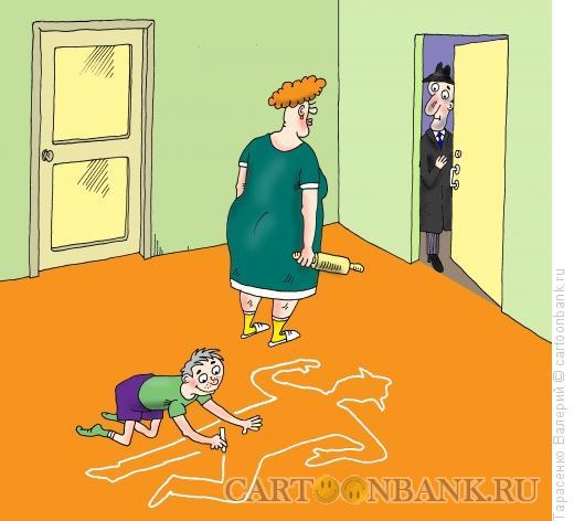 Карикатура: Заждались, Тарасенко Валерий