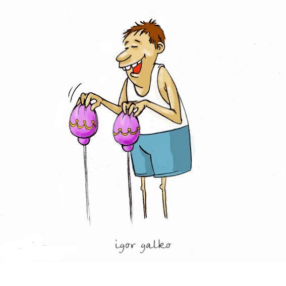 Карикатура: УТРО ФАБЕРЖЕ, IgorHalko