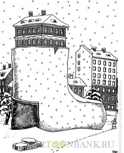 Карикатура: Валенок, Майстренко Дмитрий