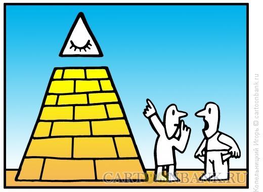 Карикатура: глаз бога, Копельницкий Игорь