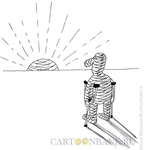 Карикатура: Восход, Шилов Вячеслав