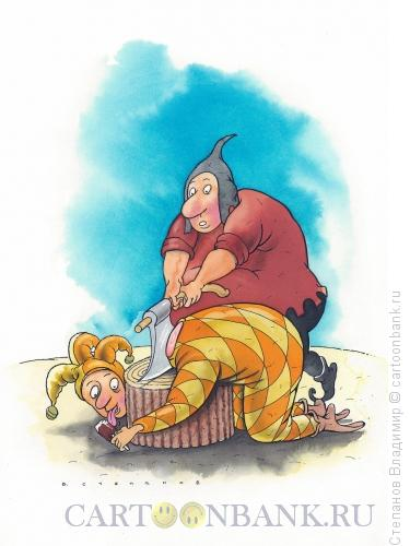 Карикатура: Последнее желание, Степанов Владимир