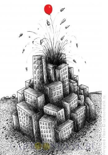 Карикатура: Праздник, Анчуков Иван