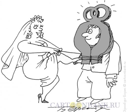 Карикатура: Упряжь, Эренбург Борис