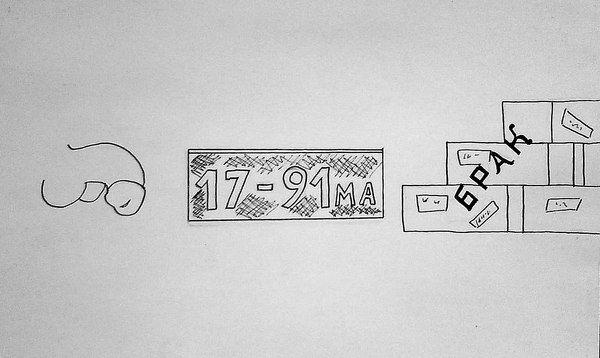 Карикатура: Член коммунистической партии(шарада)., владимир ву