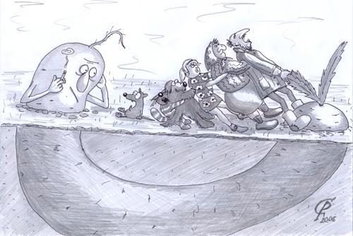 Карикатура: Мутация, Серебряков Роман