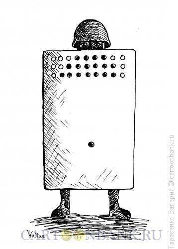 Карикатура: Силовик, Тарасенко Валерий