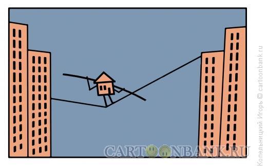 Карикатура: недвижимость, Копельницкий Игорь
