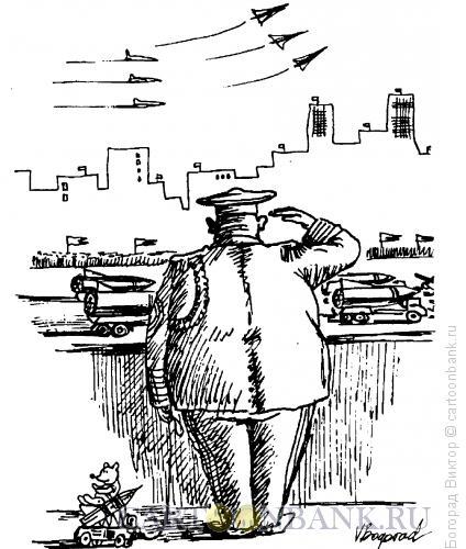 Карикатура: Генерал, Богорад Виктор