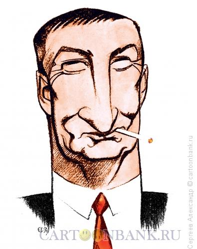 Карикатура: Альтов Семён писатель, Сергеев Александр