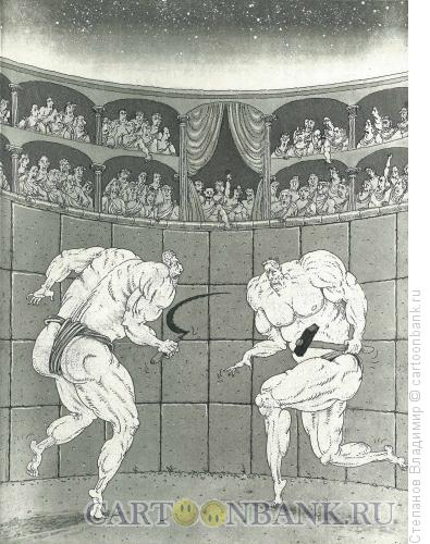 Карикатура: Натуральный отбор, Степанов Владимир