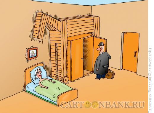 Карикатура: Троянский вариант, Тарасенко Валерий
