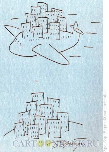 Карикатура: Лайнер, Эренбург Борис