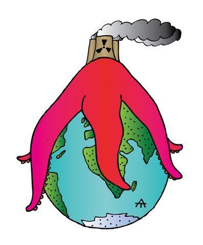 Карикатура: Спрут, Алексей Талимонов