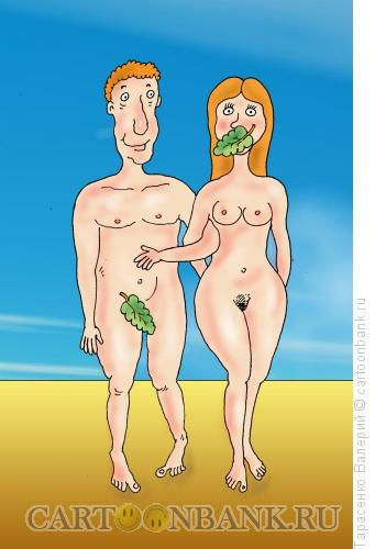Карикатура: Правильный листок, Тарасенко Валерий