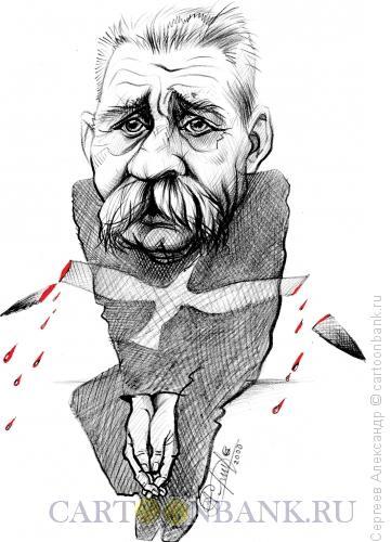 Карикатура: Горький Максим, Сергеев Александр