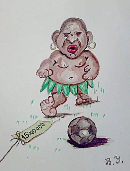 Карикатура: Роберто Карлос в Анжи., владимир ву