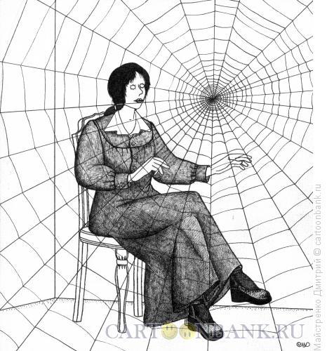 Карикатура: Паутина звуков, Майстренко Дмитрий