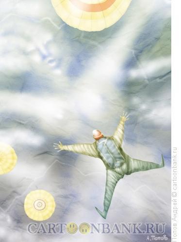 Карикатура: Облако, Попов Андрей