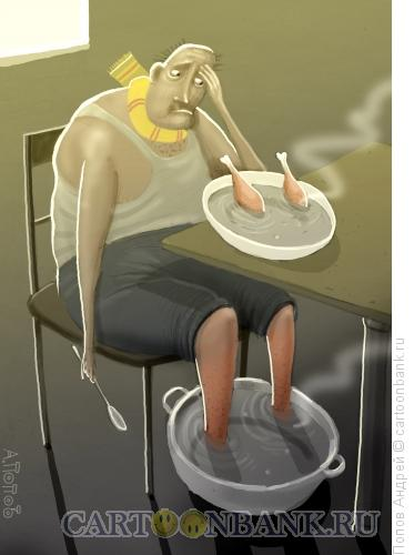 Карикатура: Хандра, Попов Андрей