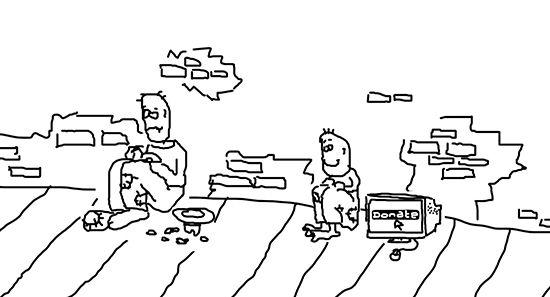 Карикатура: Попрашайки, C1