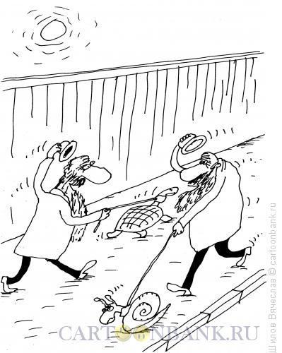 Карикатура: Торопливые, Шилов Вячеслав