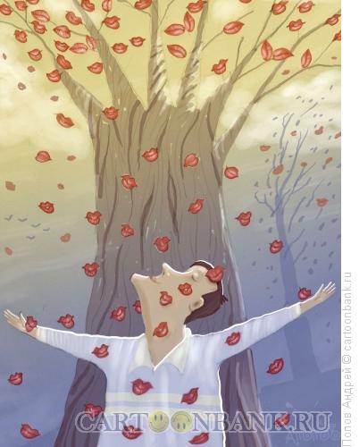 Карикатура: Бабье лето, Попов Андрей