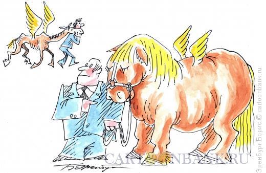Карикатура: Поэты, Эренбург Борис