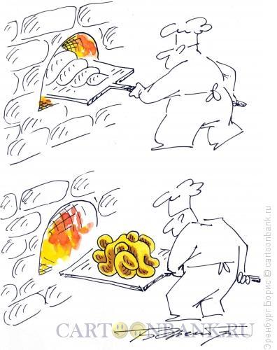 Карикатура: Секс-пекарь, Эренбург Борис