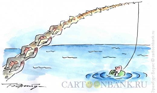 Карикатура: Неравное партнерство, Эренбург Борис