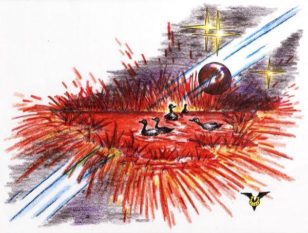 Карикатура: Пятна на Солнце, Владимир Уваров
