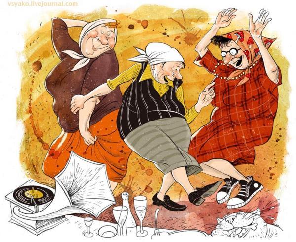 Карикатура: 8 марта, Ольга Громова