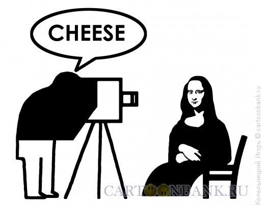 Карикатура: cheese-сыр, Копельницкий Игорь