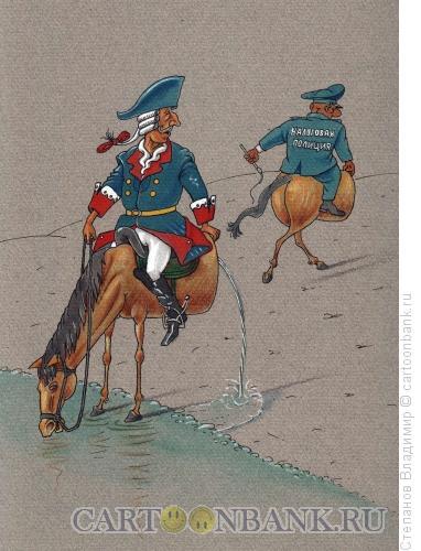 Карикатура: Реквизиция, Степанов Владимир