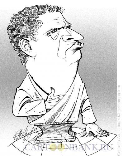 Карикатура: Жириновский Владимир, лидер ЛДПР, Сергеев Александр