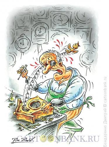 Карикатура: Чёрная неблагодарность или время пришло, Бондаренко Дмитрий