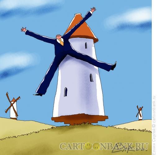 Карикатура: Офисная жизнь, Ёлкин Сергей